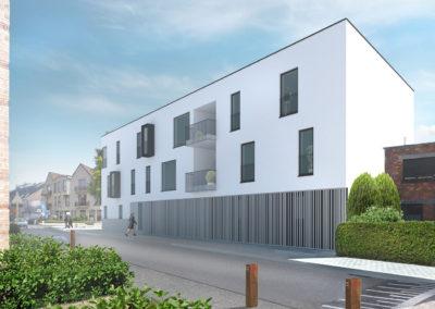 Modern nieuwbouw appartement te Landegem