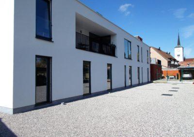 Carport in het centrum van Landegem