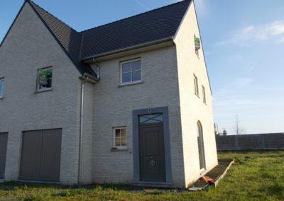 Halfopen bebouwing in Wielsbeke