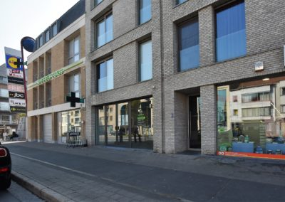 """Winkelpand te Eeklo van 282 m² op """"de Krüger"""" te huur."""