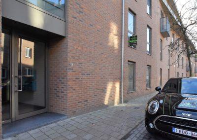 Recent 2 slaapkamer appartement centrum Gent.