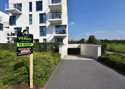 Garage in moderne residentie te Wondelgem!