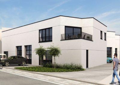 Nieuwbouw appartement met staanplaats te Eeklo.