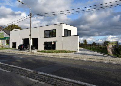 Nieuwbouw loods op centrale ligging te Eeklo.